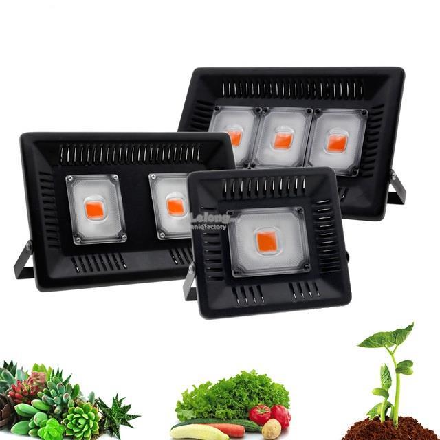 Led Flood Light Spectrum: LED Plant Grow Light 50W 100W 150W C (end 3/15/2020 6:15 PM
