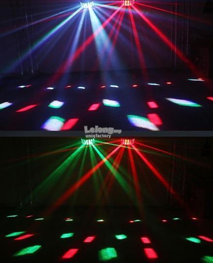 NEW LED RGBW Disco Butterfly Light Effect DMX DJ KTV Stage Club Party