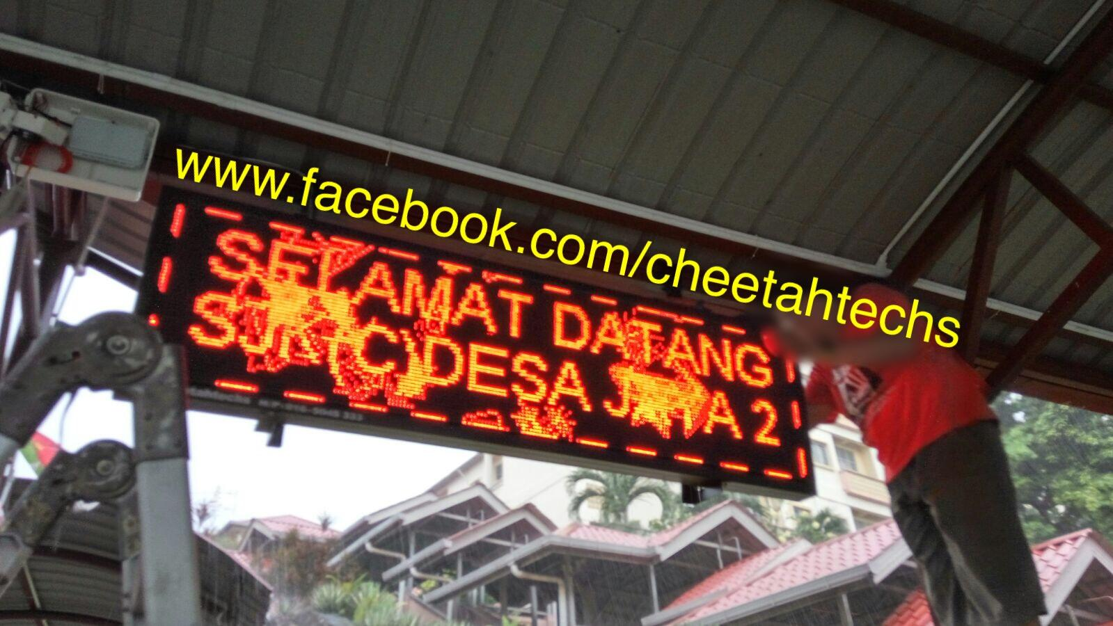 Led Running Message Display Sign Board Red or RGB with programmable