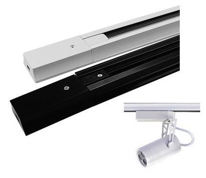 track lighting rail. led track light slide fixture rail lighting accessory 1m