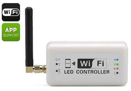 LED Wi-Fi Controller For iOS And Android Phones (WF-01).