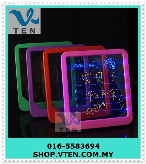 LED Writing Board Screen Fluorescent Board Display For Advertisement