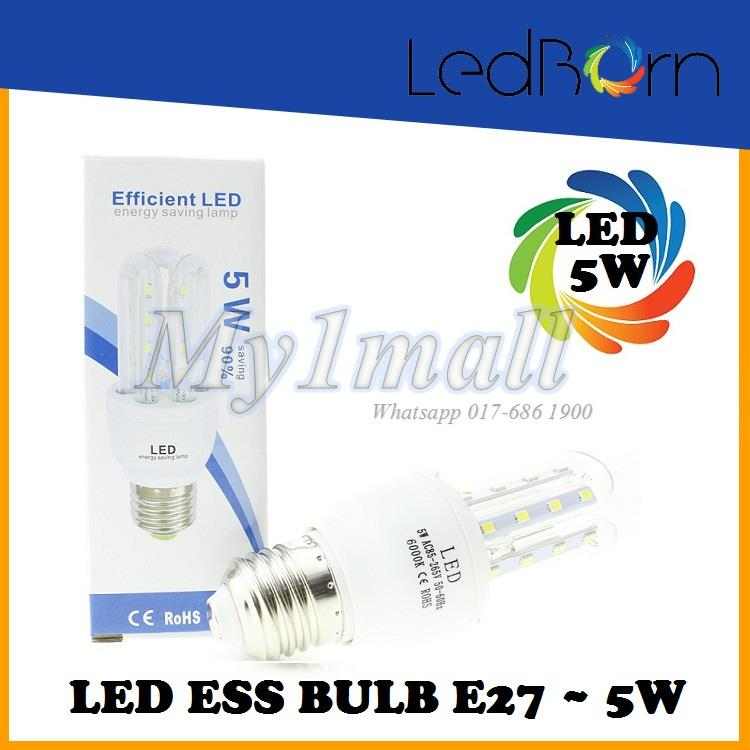 LedBorn ESS LED Bulb 5W/ E27 Daylight (White)