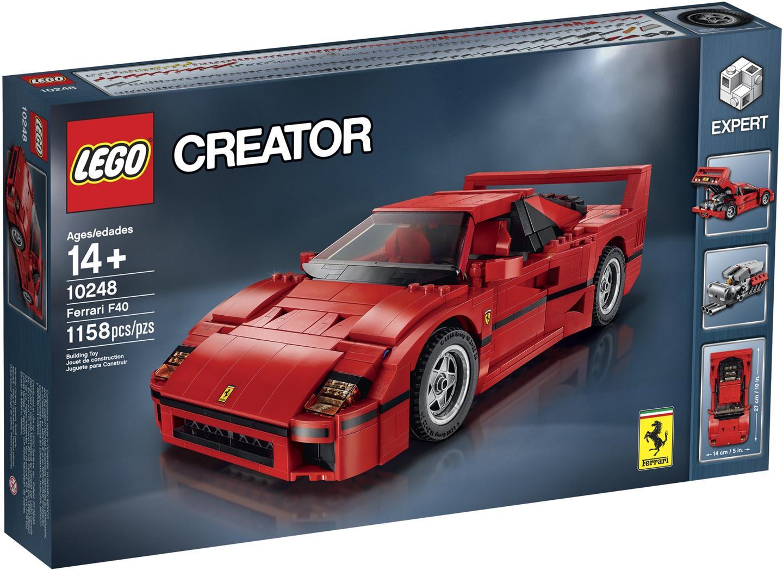 2018 ferrari f40. unique ferrari lego 10248 creator expert ferrari f40 exclusive new misb inside 2018 ferrari f40