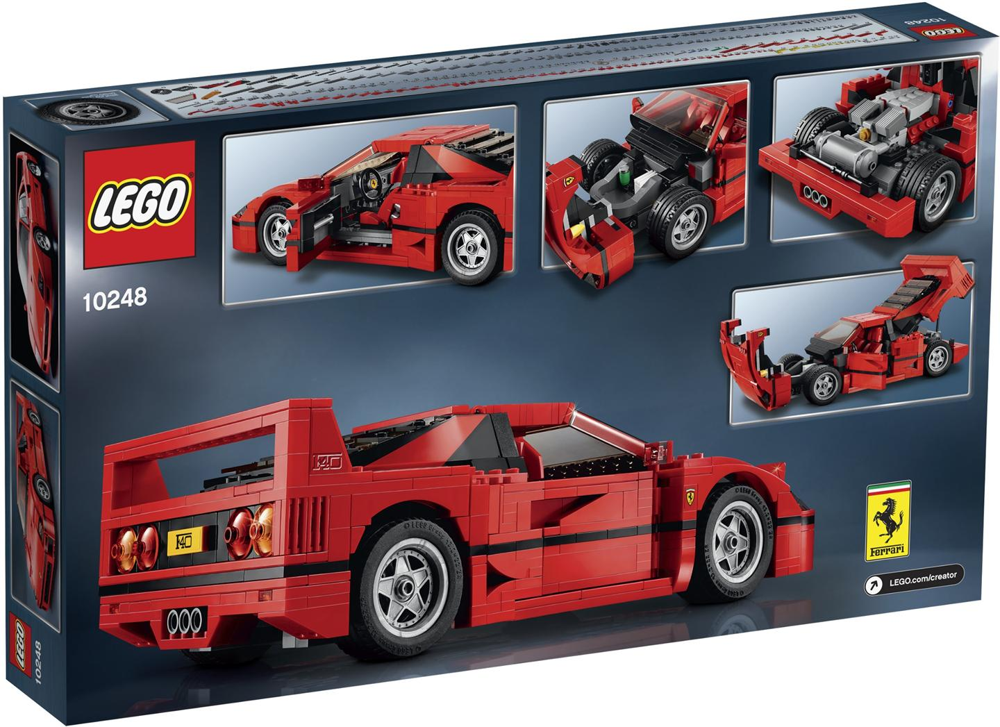 lego 10248 creator expert ferrari f40 end 8 1 2019 4 15 pm. Black Bedroom Furniture Sets. Home Design Ideas
