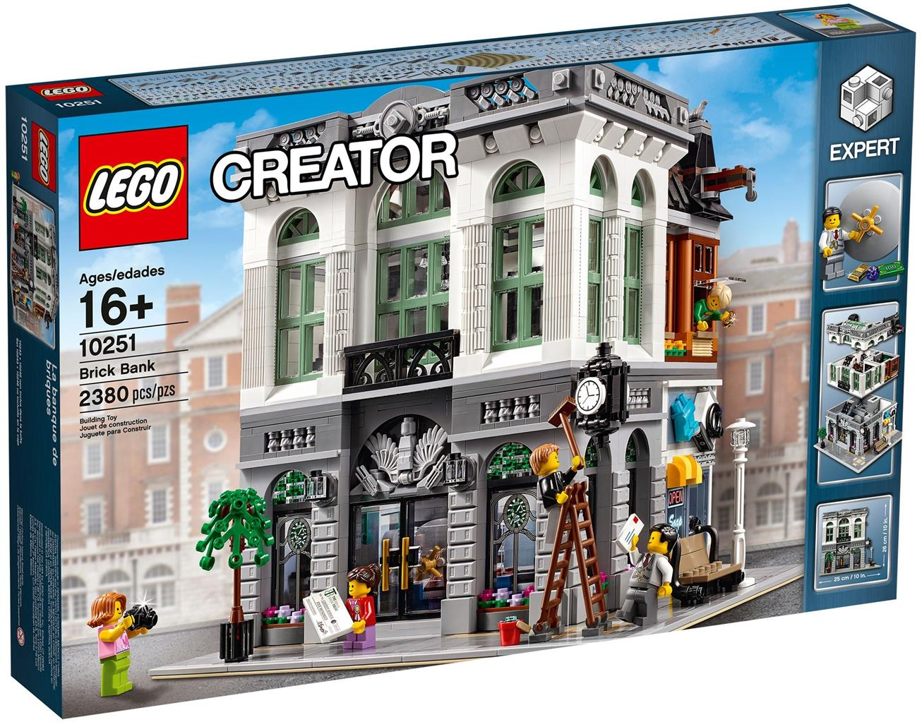 lego 10251 creator expert brick bank end 1 27 2019 5 15 pm. Black Bedroom Furniture Sets. Home Design Ideas