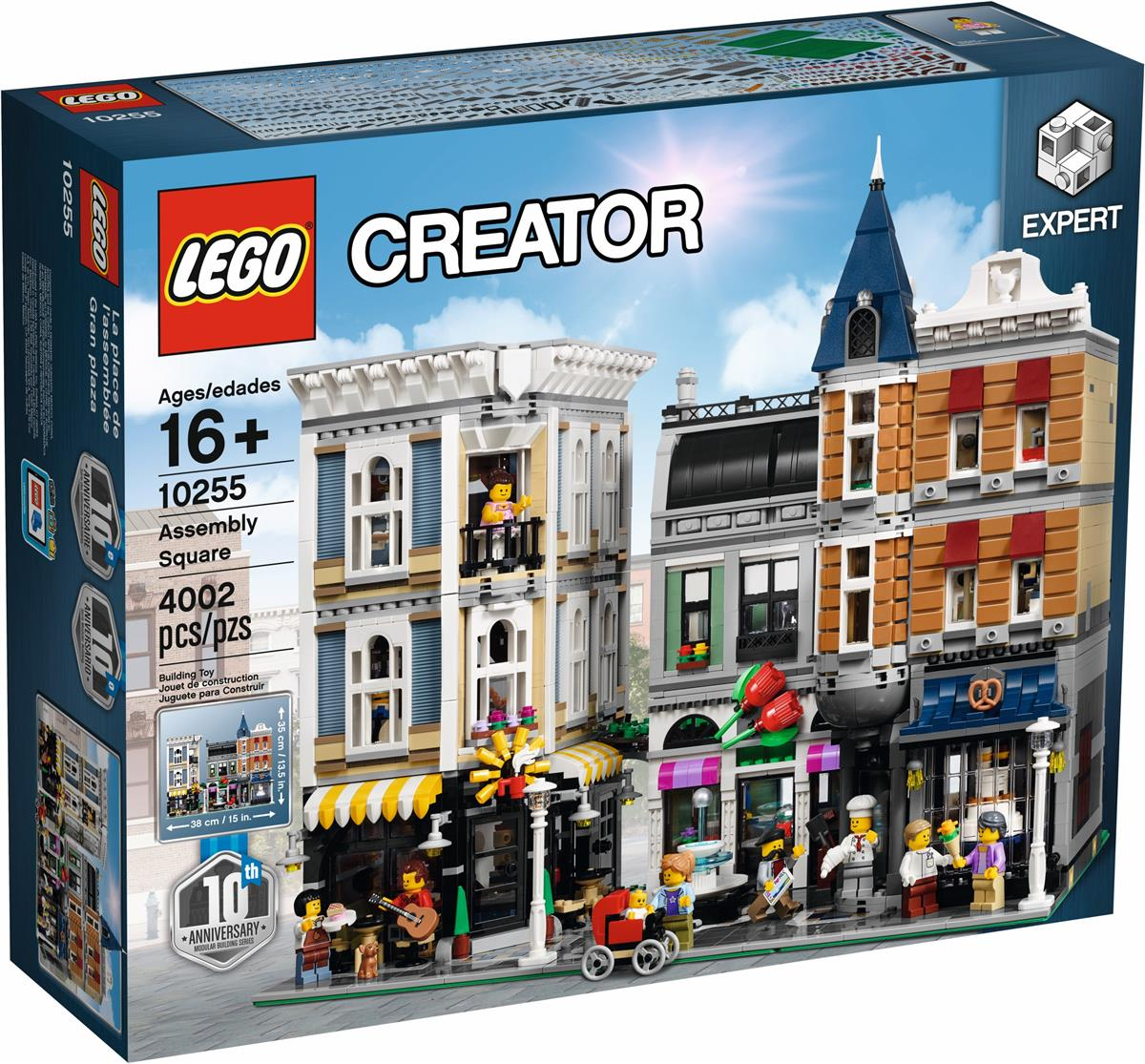 lego 10255 creator expert assembly sq end 3 8 2020 9 15 am. Black Bedroom Furniture Sets. Home Design Ideas