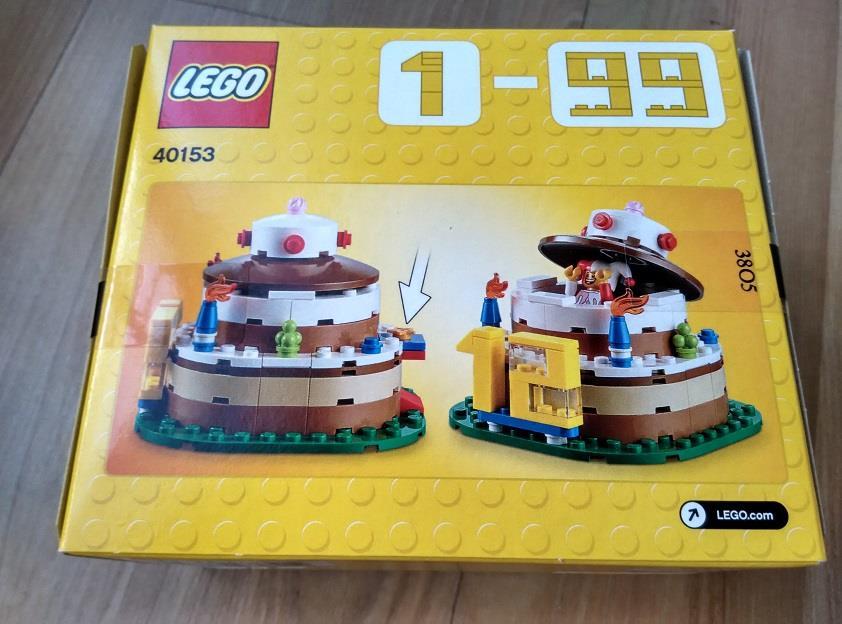 Lego 40153 Birthday Cake End 11 16 2017 915 PM
