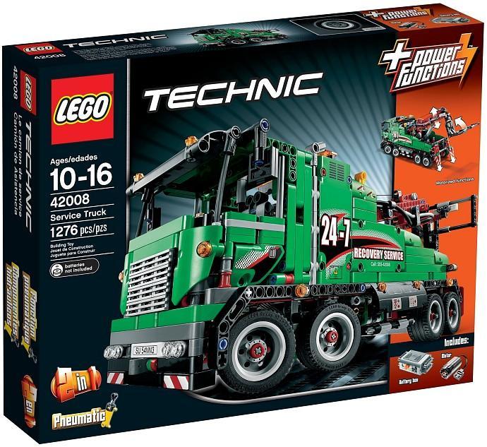 lego technics 2019  LEGO 42008 Technics Service Truck N (end 10/9/2019 11:15 AM)
