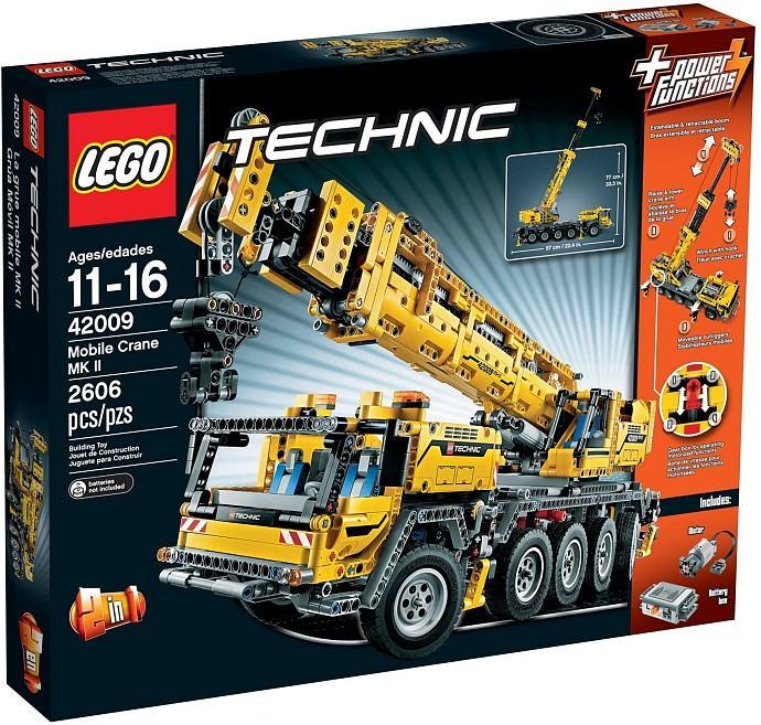 lego 42009 technics mobile crane mk2 end 8 7 2019 1 15 pm. Black Bedroom Furniture Sets. Home Design Ideas