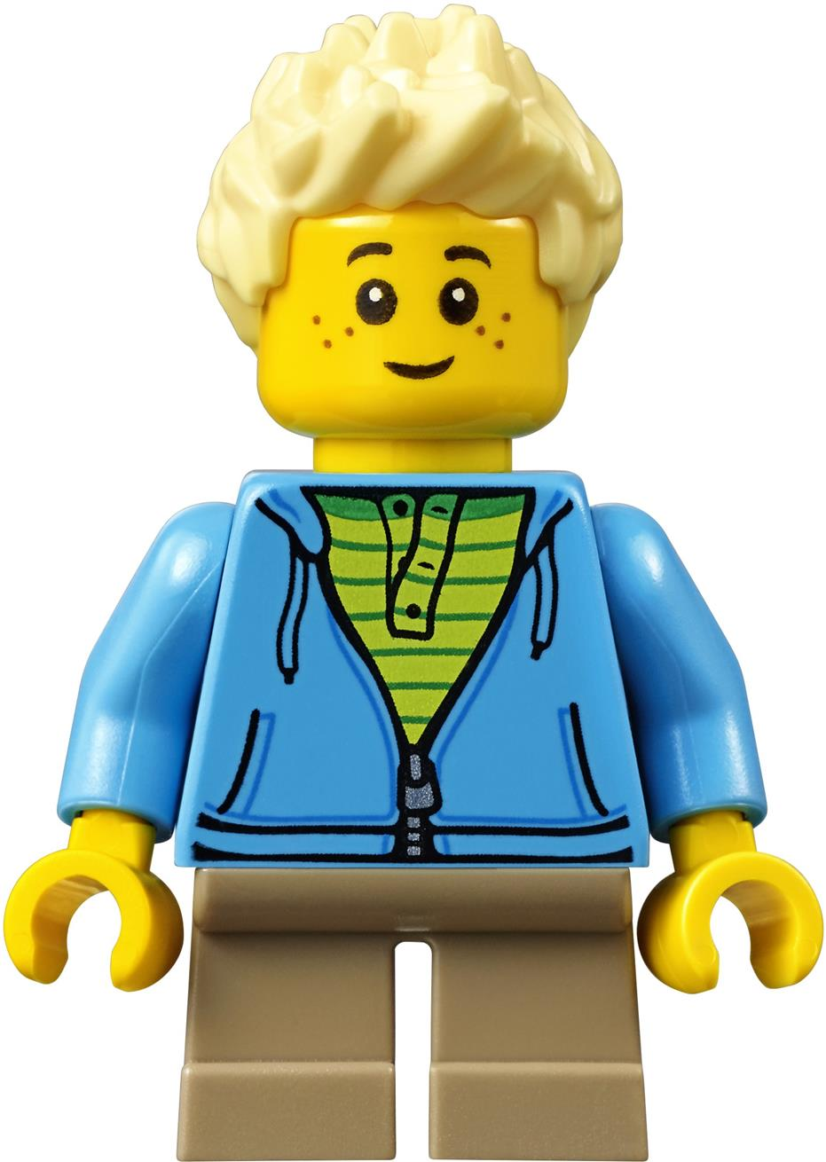 LEGO 60134 City Fun in Park Children - Blonde Boy Minifigure NEW
