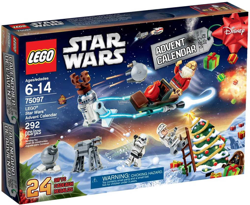 Calendrier Star Wars 2019.Lego 75097 Star Wars Advent Calendar 2015 Misb