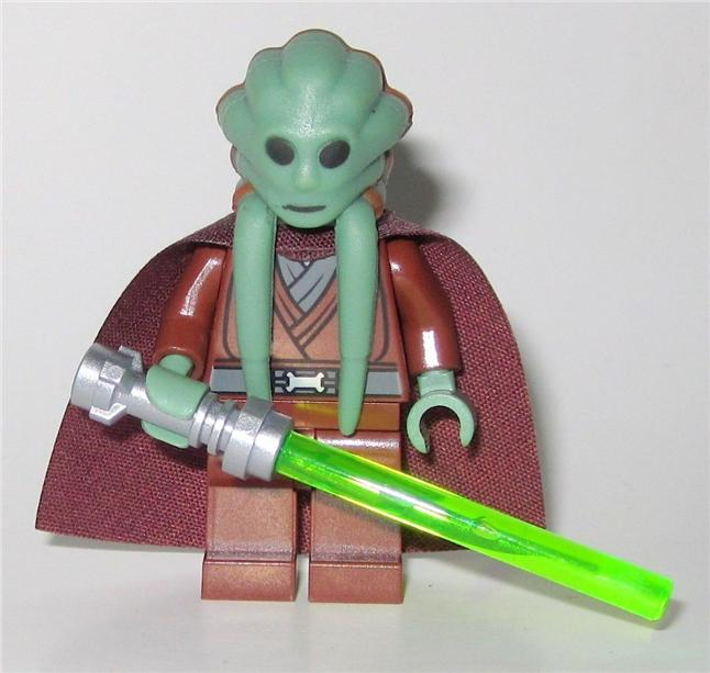 LEGO 9526 Star Wars Kit Fisto Minifigure NEW. ‹ ›