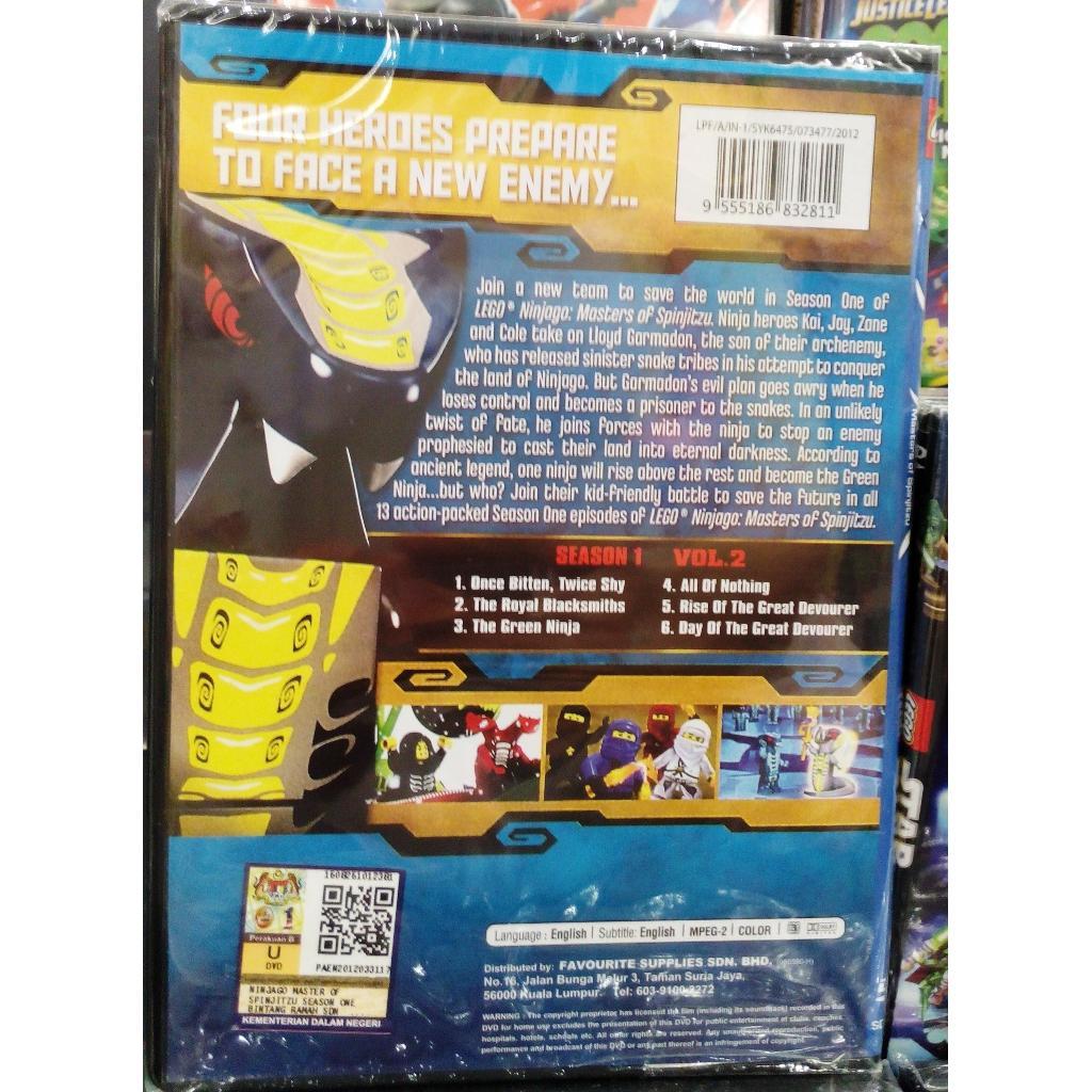 a34dbc84296012 Lego Anime : Ninjago Masters of Spinjitzu Season One Vol.2 DVD