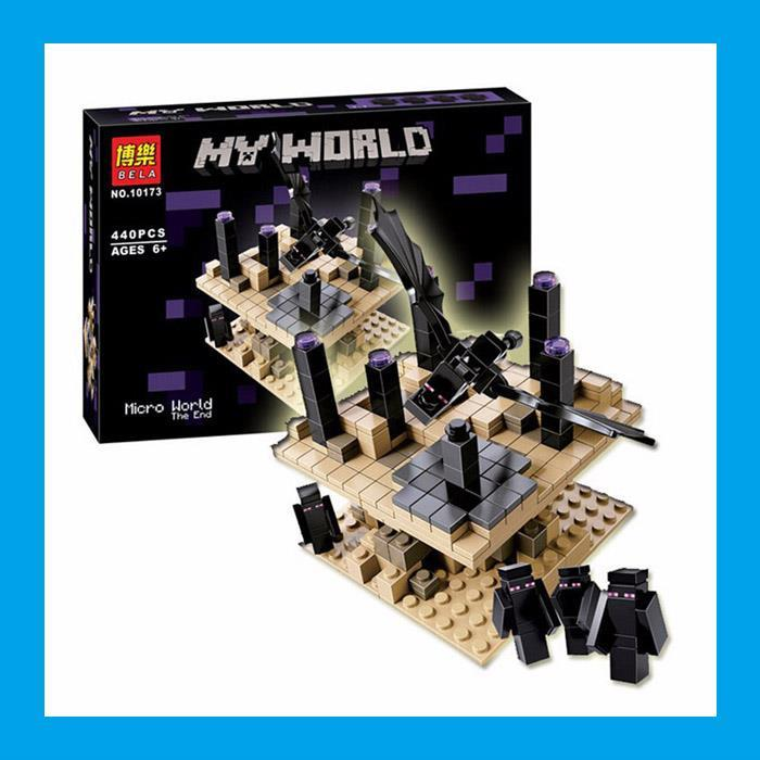 Not Lego Bela Minecraft My World The End 440pcs Building Block