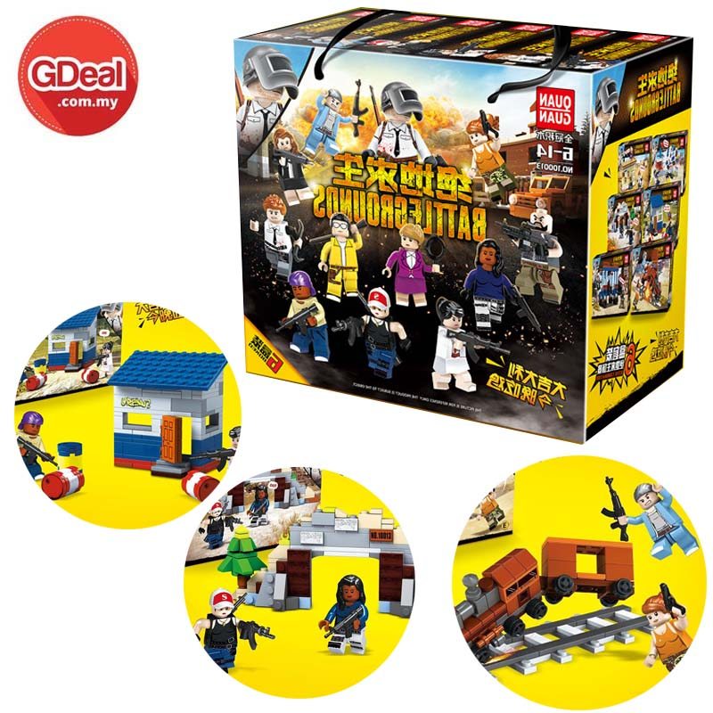 Lego Blocks Wilderness Stimulate The Battlefield Dolls Assembled Toys
