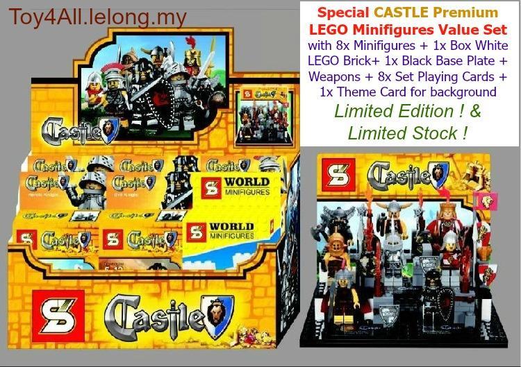 Lego Castle Minifigures Special Pre End 11252019 724 Pm