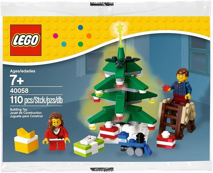lego christmas 40058 decorating tree polybag new sealed