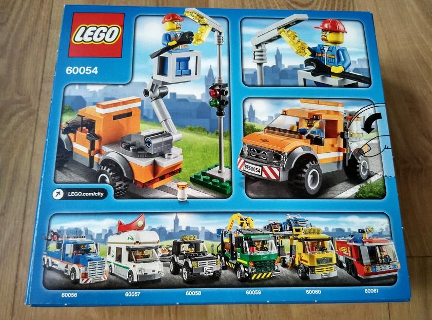 Truck City Repair Light Lego 60054 mNvn0w8