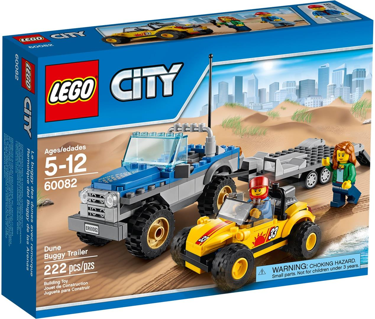 Lego City Dune Buggy Trailer 60082 New MISB