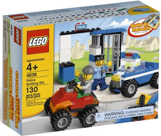Lego City Police Building Games