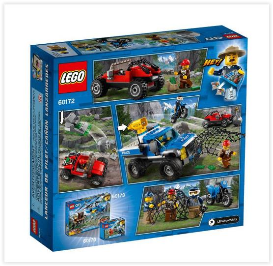 LEGO City Police Dirt Road Pursuit 60172
