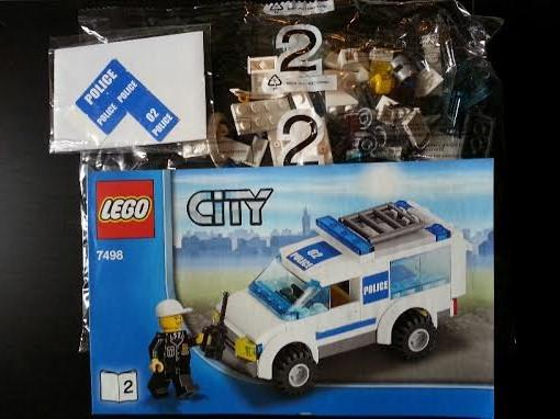 Lego City Town Police Car Police End 12302019 115 Pm