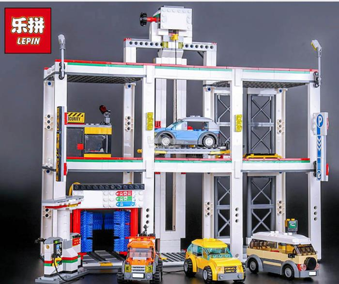 LEGO Compatible Cities The City Garage 02073