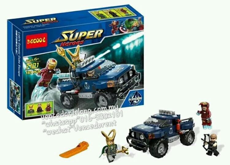 Lego Compatible Decool 7101 Loki S End 1 14 2019 11 33 Pm