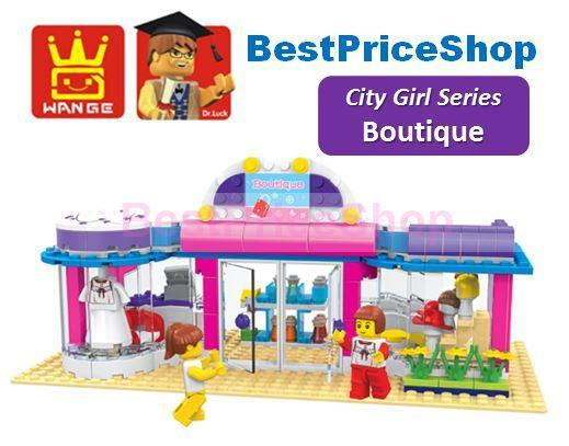 LEGO compatible - Dr Luck City Girl Boutique - Education brick games