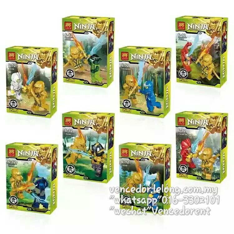 Lego Compatible LELE 79269 NinjaGo M (end 6/11/2018 7:05 PM)