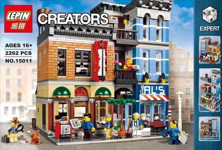 Lego Compatible LEPIN 15011 Creator Modular Detective Office. ‹ ›