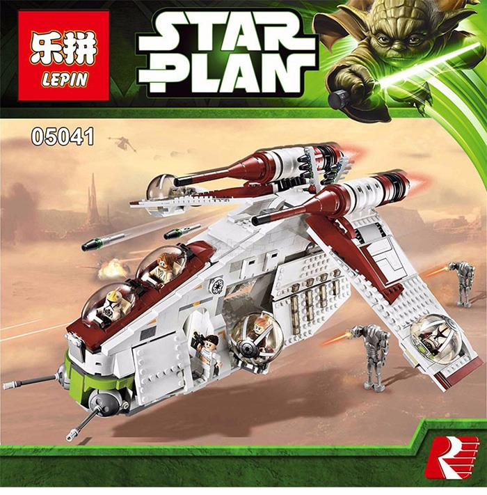 LEGO Compatible Star Plan Republic G (end 7/21/2018 1:15 PM)