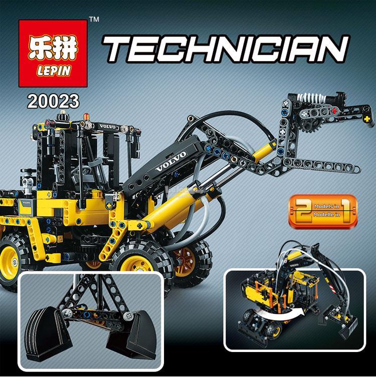 LEGO Compatible Technic Volvo EW160E 20023