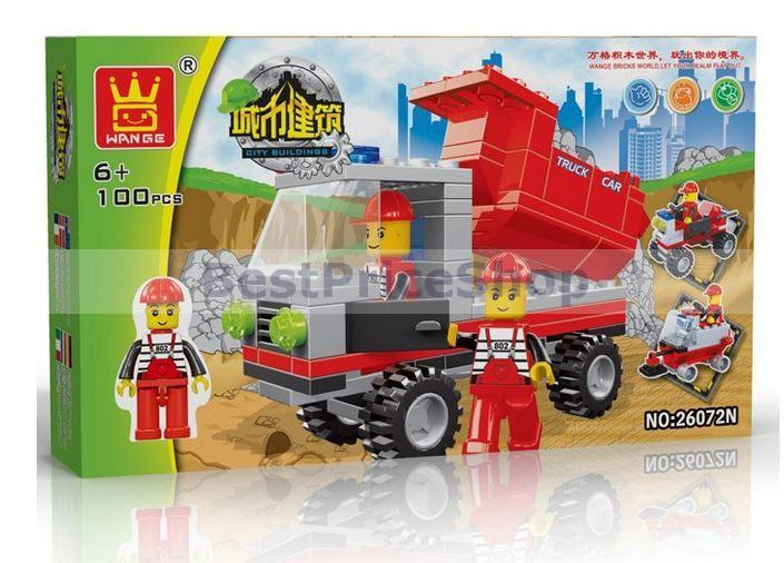 LEGO compatible - WANGE City Building Series - creative brick games