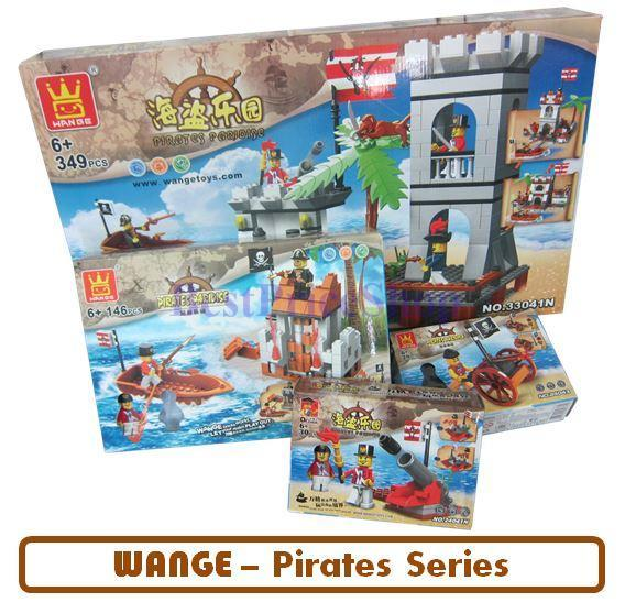 LEGO compatible - WANGE Pirate Fighting Series - education brick games