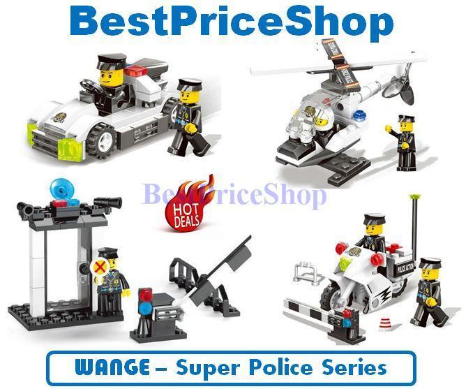 LEGO compatible - WANGE Super Police (end 8/20/2018 4:21 PM)