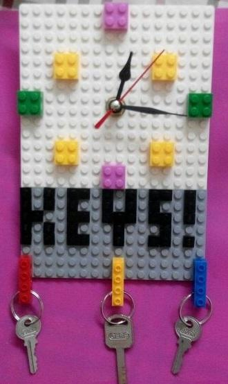 Lego DIY creative Clock