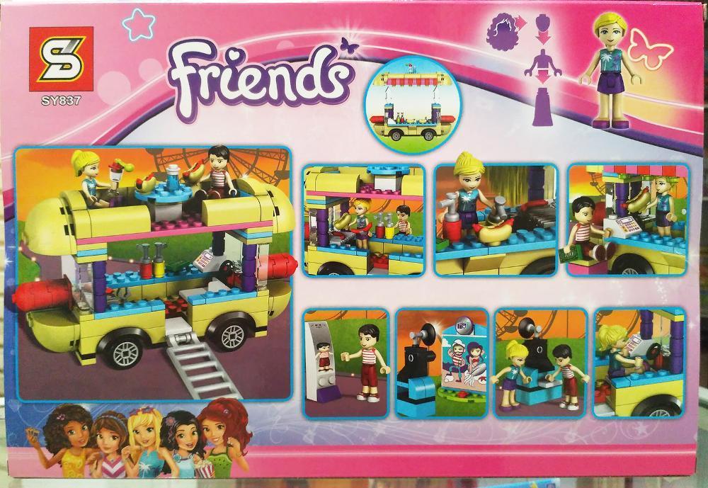 LEGO FRIENDS HOT DOG VAN PLAYSET (end 4/7/2018 11:15 AM)