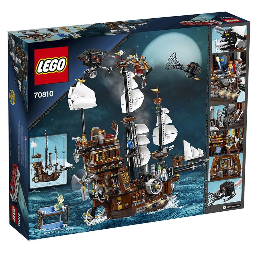 LEGO MOVIE 70810 MetalBeard's Sea Cow Ship NEW MISB (RETIRED)