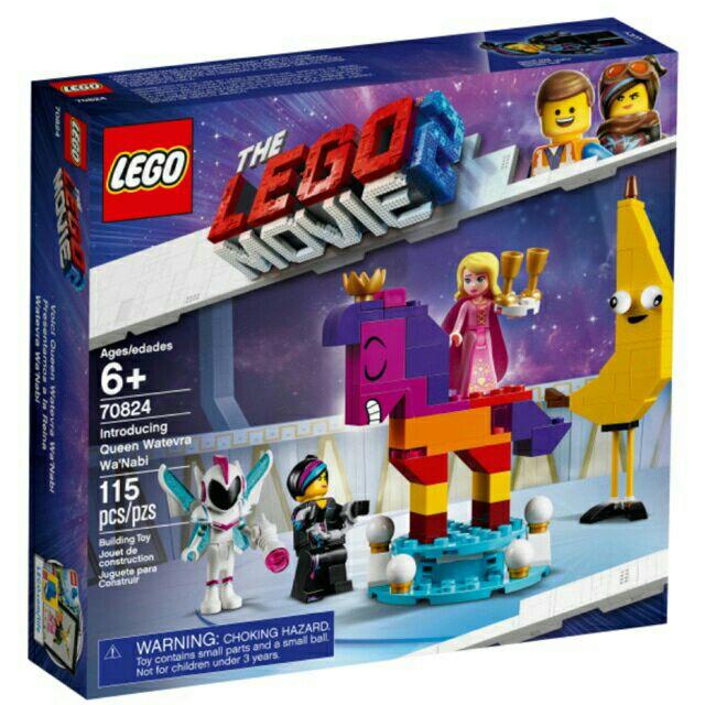 Lego Movie 70824 Introducing Queen Watervra WaNabi