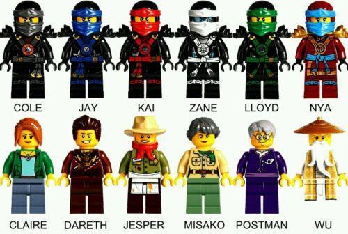Lego Ninjago All 12x Minifigure Fr End 11 10 2019 10 15 Pm