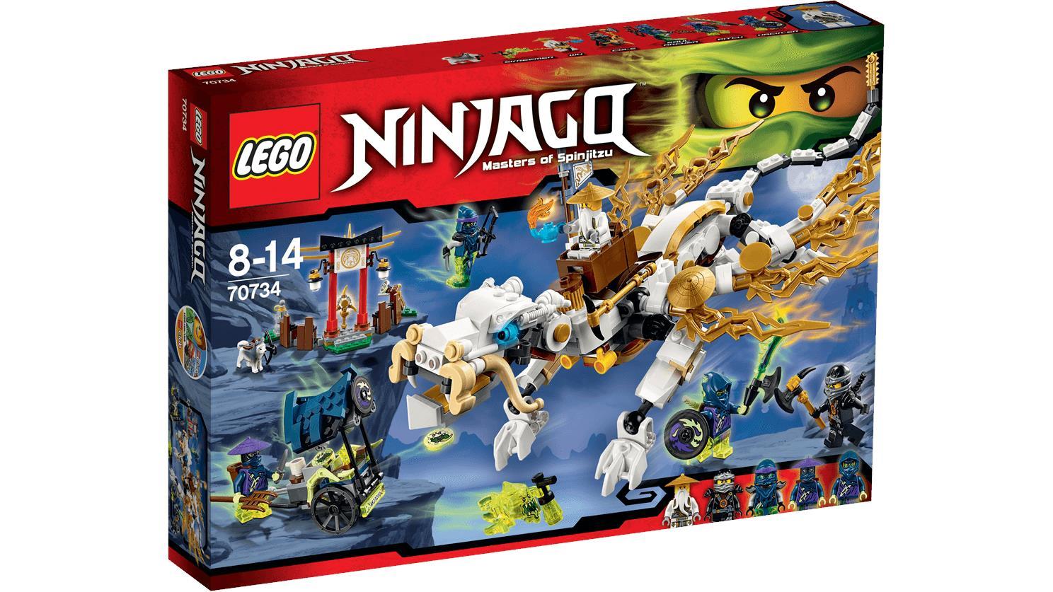 ac8f4bee0b10cf LEGO NINJAGO™Master Wu Dragon 70734