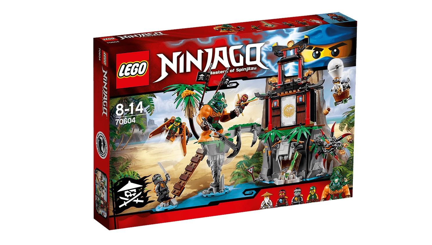 LEGO NINJAGO™ Tiger Widow Island 70604