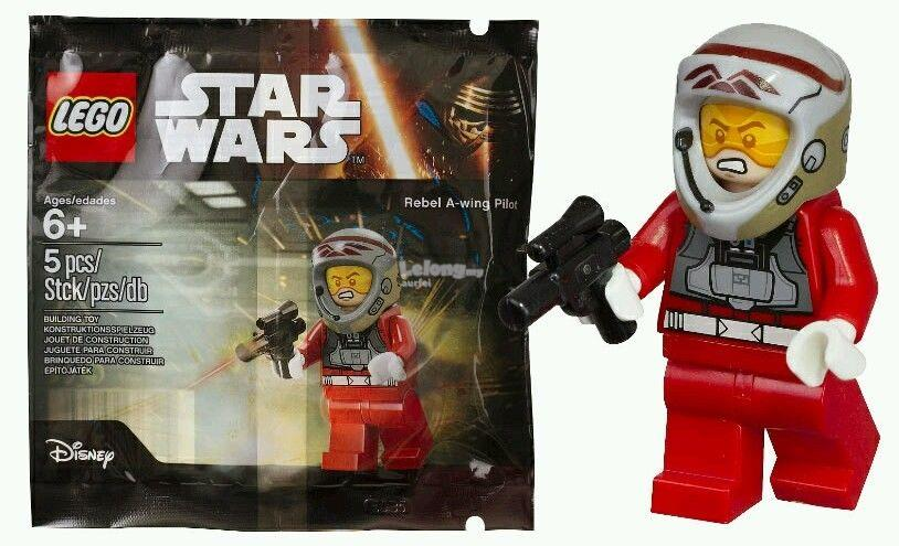 LEGO STAR WARS 5004408 REBEL A-WING PILOT POLYBAG NEW AND SEALED