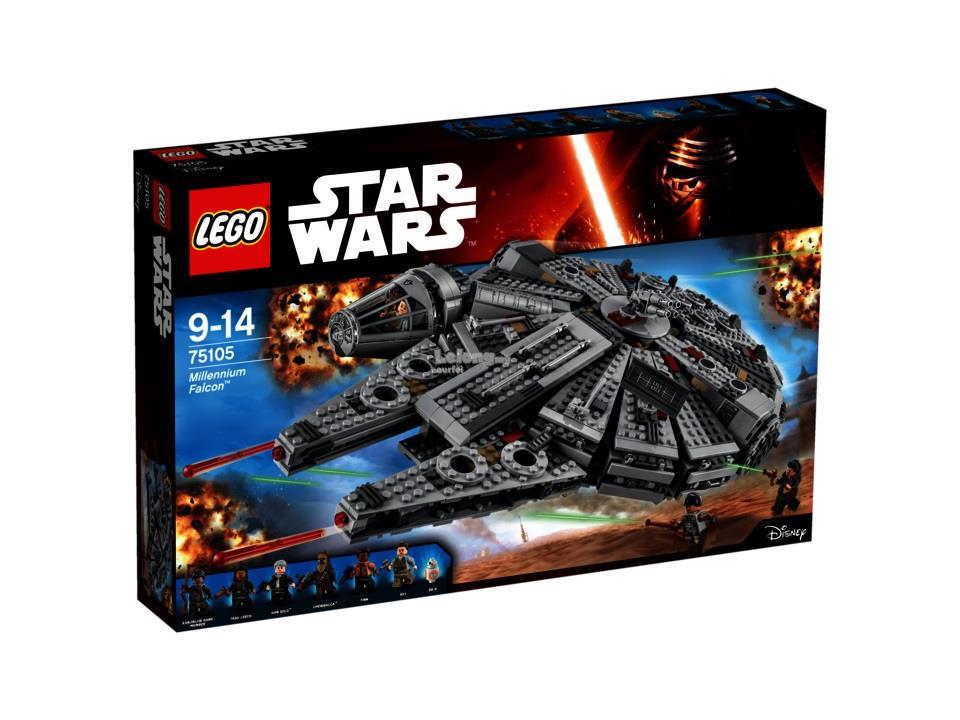 LEGO STAR WARS 75105 MILLENNIUM FALC (end 1/26/2018 2:15 PM)