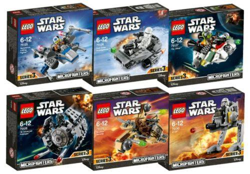 LEGO Star Wars Complete 6 Microfighte (end 4/1/2019 9:15 PM)