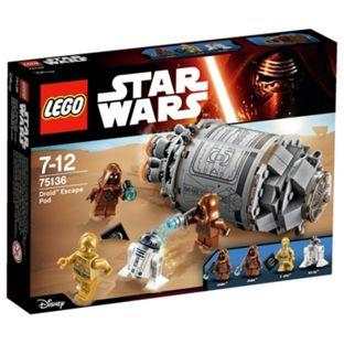 LEGO Star Wars Droid™ Escape Pod 75136