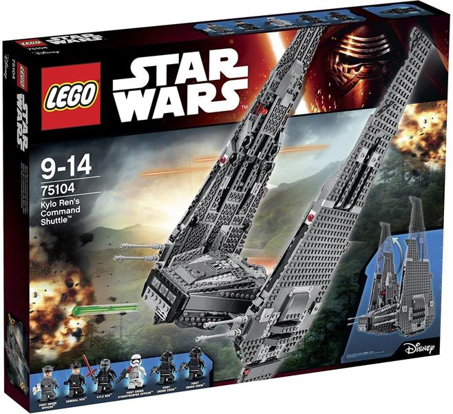 Lego Star Wars Kylo Ren Command Shuttle 75104