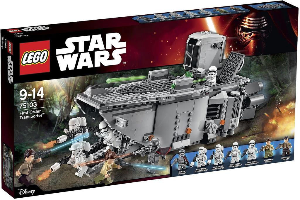 LEGO Star Wars First Order Transporte (end 1/9/2017 3:00 PM)